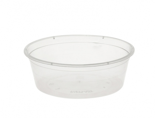 Round Container 250ml/10oz PP T225 - Uni-Chef