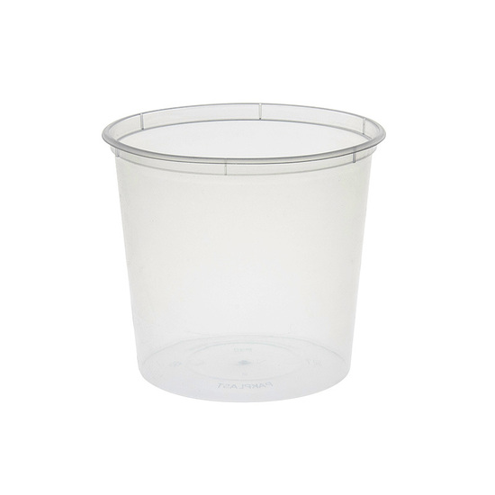 Round Container 750ml/30oz PP - Uni-Chef