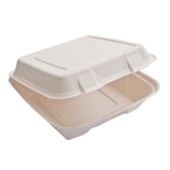 Large Square Food Pack B025 230x230mm - Bio-Plate