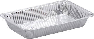 Deep Rectangle Foil Catering Tray X-Large (Retail) - Uni-Foil