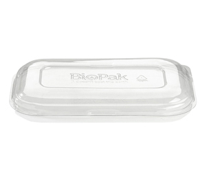 Takeaway Container Lid PET Large - BioPak