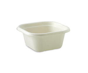 Takeaway Container Base White 480ml BioCane - BioPak
