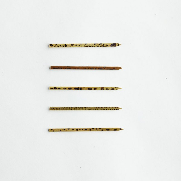 Bamboo Toothpick with Carbonised Skin 6cm - Epicure