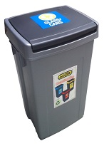 Bin Recycling Blue for Glass