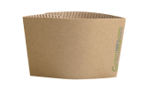 Sleeve for Single Wall Cup - 16oz Carton  1000    - Green Choice