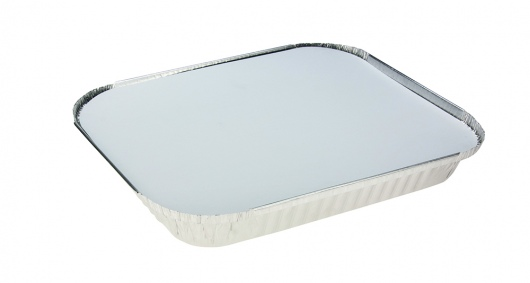 Rectangle Shallow Foil Half Gastronorm With Lid - Uni-Foil