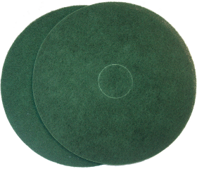 Floor Prep Pad Green Semi Thinline 400mm - Glomesh