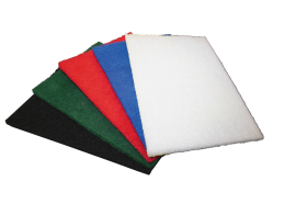 Abrasive Pads Thinline GREEN Medium Duty 200x150 - Glomesh