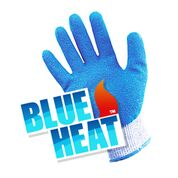 Heat Resistant Gloves - Blue Heat