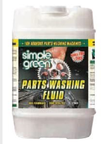 PARTS WASHING Fluid Concentrate - Simple Green