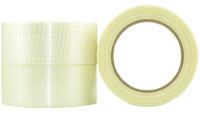 BiDrectional BOPP/Glass Fibre Filament Tape 18mm - Pomona