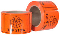 TOP STOW printed labels on a roll (660 labels/roll) - Pomona