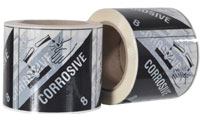 CORROSIVE 8 printed labels on a roll (500 labels/roll) - Pomona