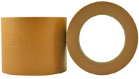 Brown Premium High Temp Crepe Rubber Masking Tape 24mm - Pomona