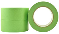 Green Professional Painters Crepe Rubber Masking tape 18mm - Pomona
