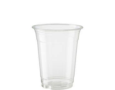 12oz Cold Cup HiKleer' P.E.T, Clear - Castaway