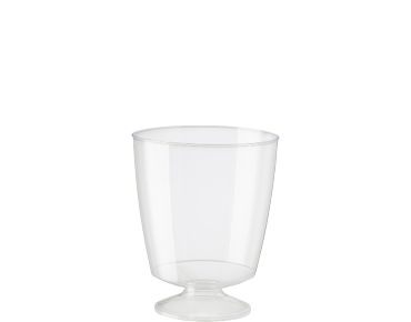 185ml Elegance' Wine Glass, Clear - Castaway