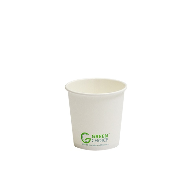 4oz Single Wall Cup PLA. Carton 1000 - Green Choice