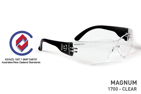 MAGNUM' Safety spec, Clear Lens - Esko