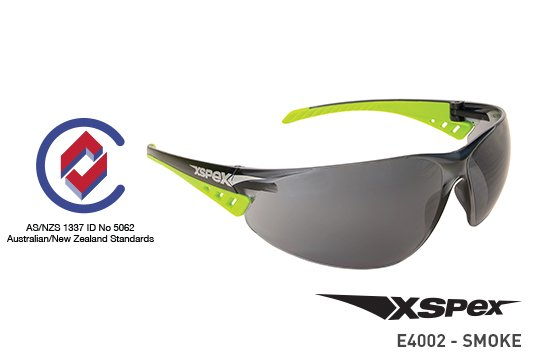 XSPEX' Safety Spec, Smoke Lens - Esko