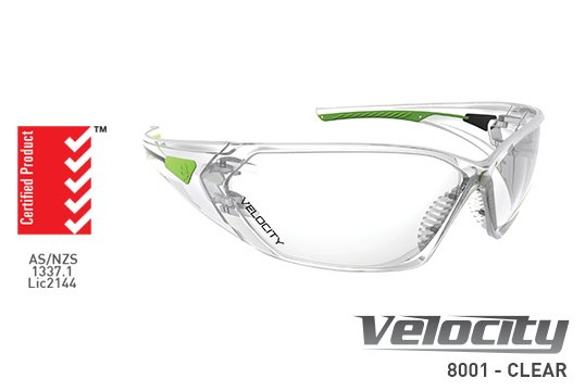 VELOCITY' Safety spec, Clear Lens - Esko
