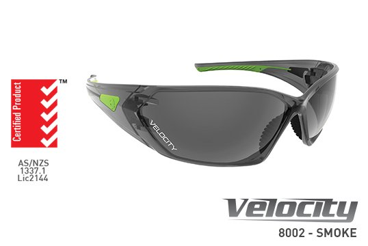 VELOCITY' Safety spec,  Smoke Lens - Esko