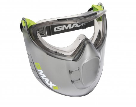 G-MAX' Clear Safety Goggle/Faceshield  - Esko