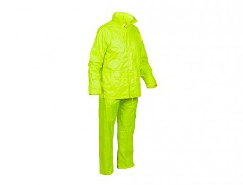Good2Glow' Rainsuit, Jacket & Pant Set, Neon Yellow - Esko