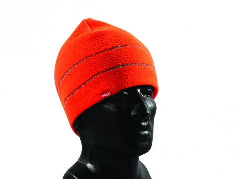 Good2Glow' Hi-Vis Beanie, Orange - Esko