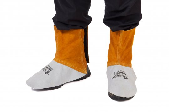 FUSION' Welders Leather Spats, Kevlar Stitched - Esko