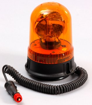 PULSAR 12v Rotating Beacon Magnetic Base - Esko