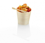 Pine cup 4.5 x 4.5cm Small - Vegware - Pack & Carton