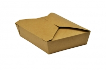 No.2 food carton 1500ml 19.5x14x5cm - Vegware