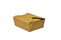 No.8 food carton 1300ml 15x12x6.5cm - Vegware