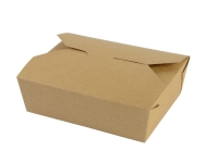 Box 1050ml No.5 food carton 15 x 12 x 5cm - Vegware