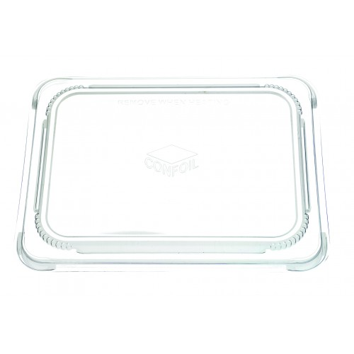 Container Food Lid Polypropylene for DP6111 trays - Confoil