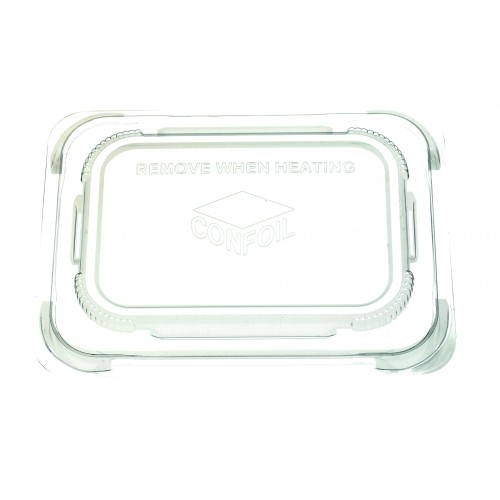 Container Food Lid Polypropylene for DP6170 trays - Confoil