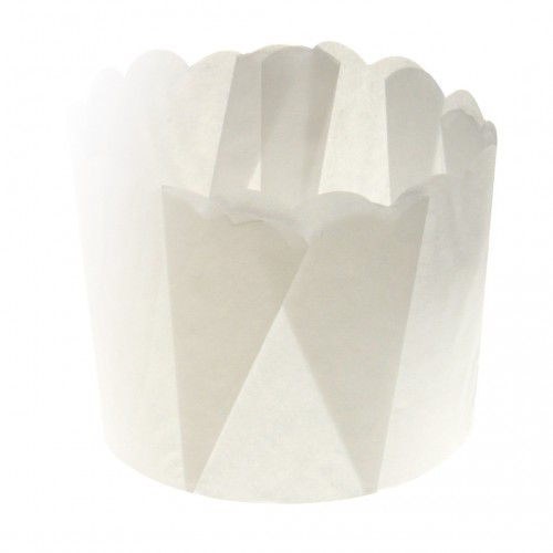 Paper Daisy Cup - White 125G - Confoil