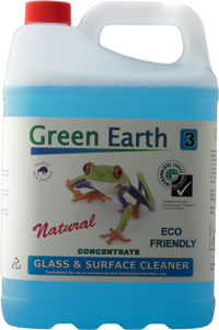 Glass & Surface Cleaner - 5Ltr & 20ltr - Green Earth