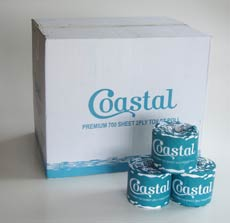 Toilet Rolls 2ply 700sheet - Coastal brand