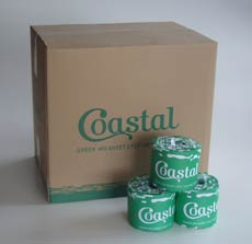 Toilet Rolls 2ply 400sheet recycled - Coastal brand