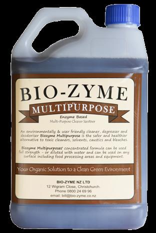 Bio-Zyme Enzyme Based Multi Cleaner/Sanitiser