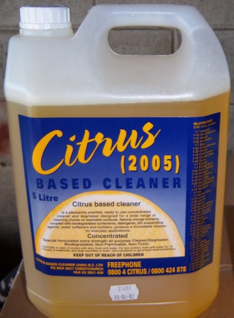 Citrus Based Cleaner